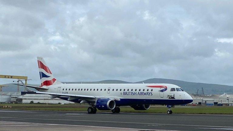 British Airways Chennai London Flight