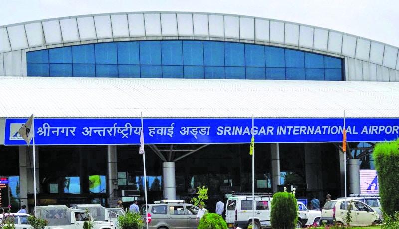 First International Flight From Srinagar