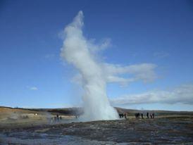 Reykjavik Iceland geyser