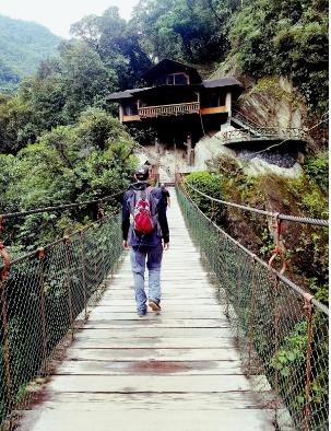 Banos hiking