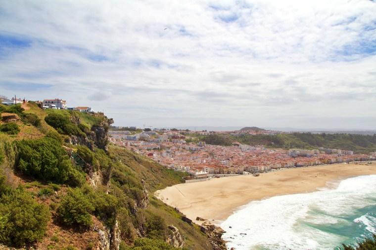Nazare in Central Portugal
