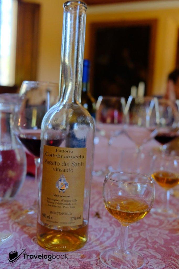 另一款濃度較高的酒,請恕筆者不好杯中物,說不出名堂來。