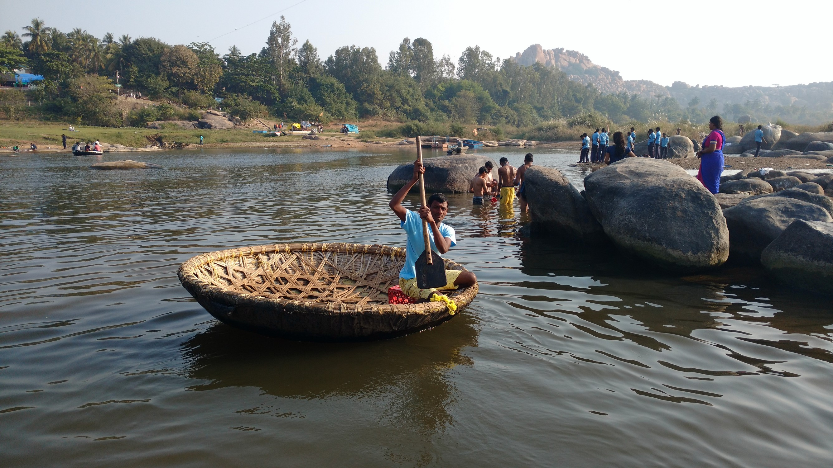 Coracle Boat