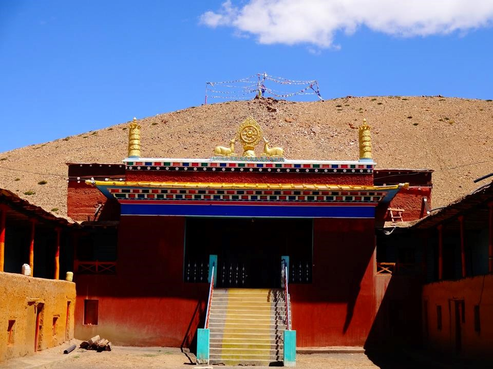 Tangyud Monastery in Komik - Highest motorable Buddhist monastery in the world founded in the 14th century