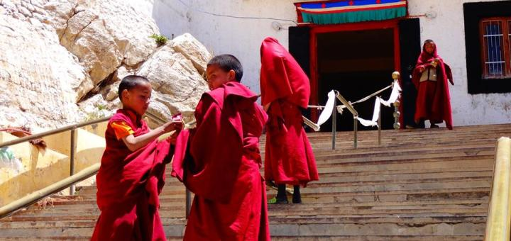 Lama Kids - Kinnaur-Spiti Valley