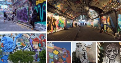 Best 6 World's cities for Street Art Graffiti