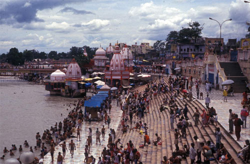 Haridwar at the Ganges