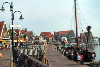 Harbour of Volendam