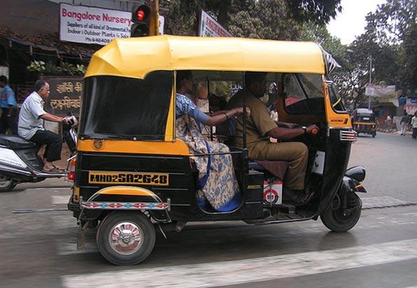 Autorickshaw in Mumbai