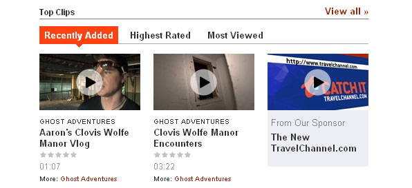 Travel Channel adds Videos