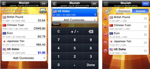Moolah Currency Converter