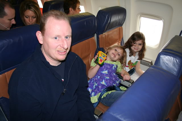 Kids in airplanes
