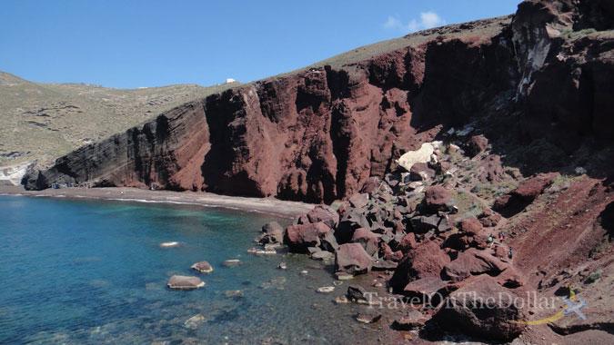 Red Beach at Akrotiri
