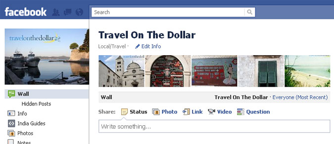 Travel On The Dollar on Facebook