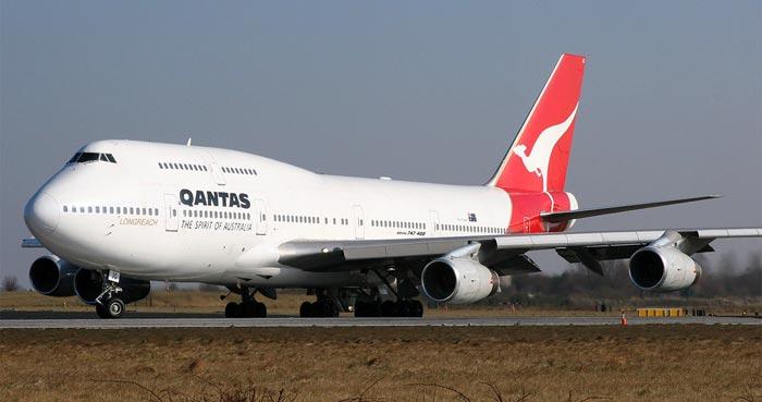 Qantas B747