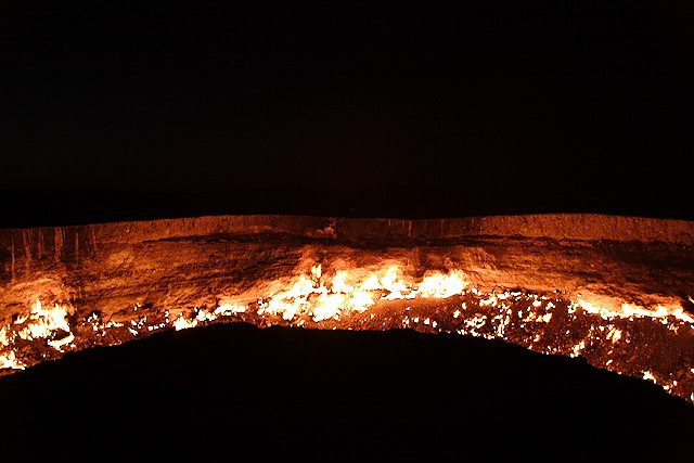 Darvaza - Door to Hell in Turkmenistan