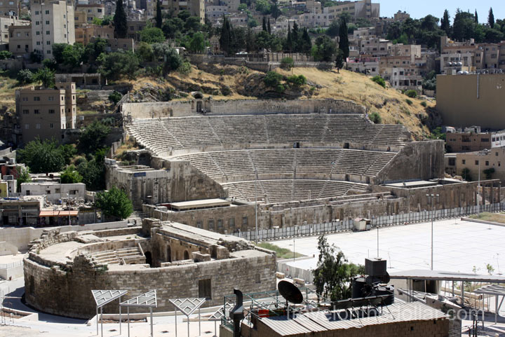 Roman Theater, Amman