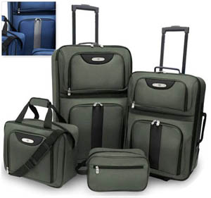 Traveler's Choice 4-piece Luggage set