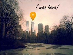 Central Park, New York City, USA - I was here!