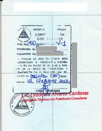 NicaraguaVisa2