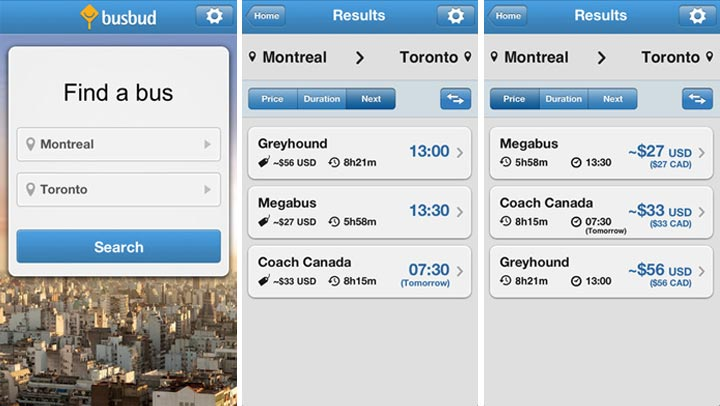 BusBud iOS App