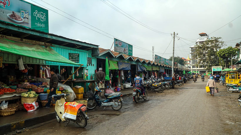 Central Market Hsipaw