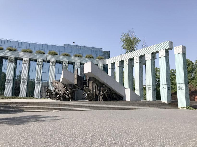 Momument of Warsaw Uprising