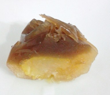 Autumn Wagashi with Chestnuts