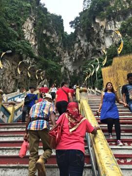 Batu Caves Stairs