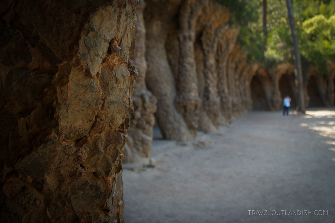 Stone Arches at Park Guell