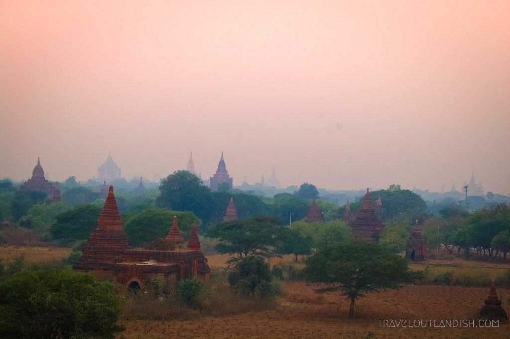 Bagan - Sunrise at Bagan 2