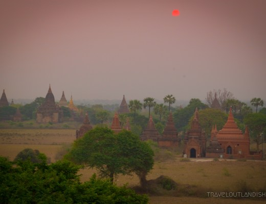 Bagan - Sunrise at Bagan 4