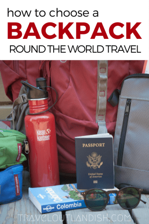 Are you headed on a backpacking trip? Tips on how to choose the best travel backpack for round the world travel + round the world travel essentials.