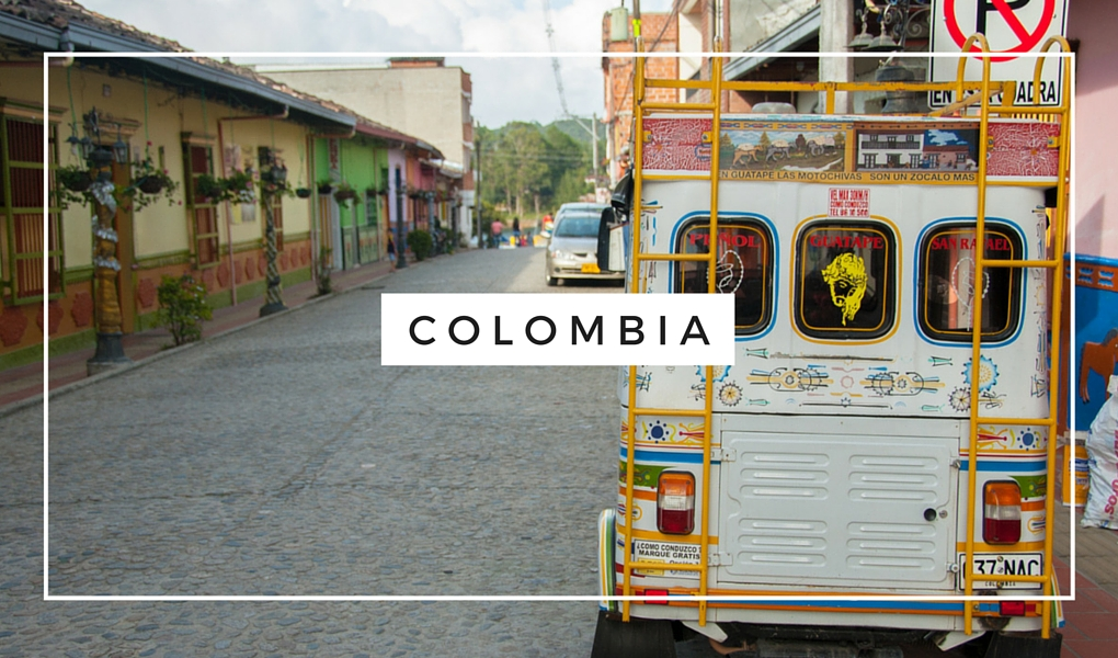 Destinations - South America-Colombia-Taxi
