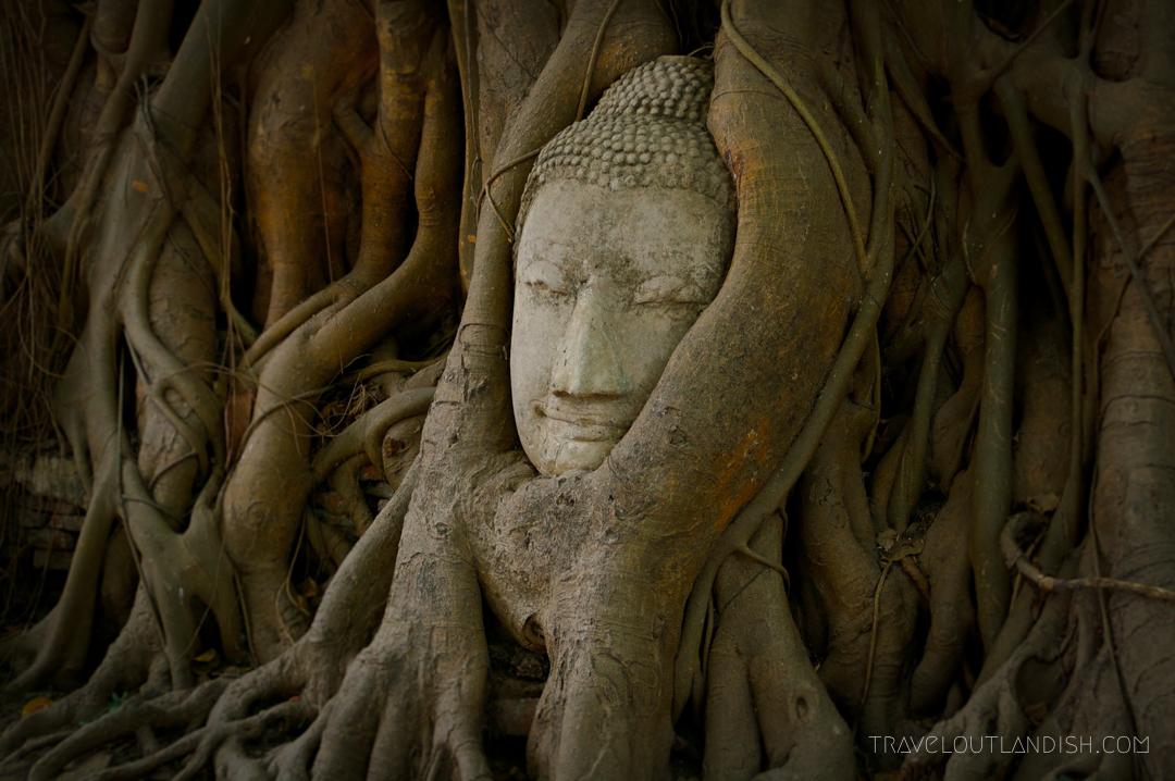 Wat Mahathat at Ayutthaya