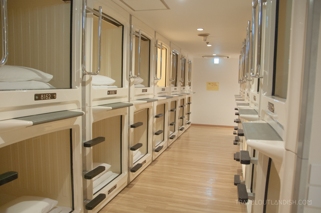 Capsule Hotel Layout