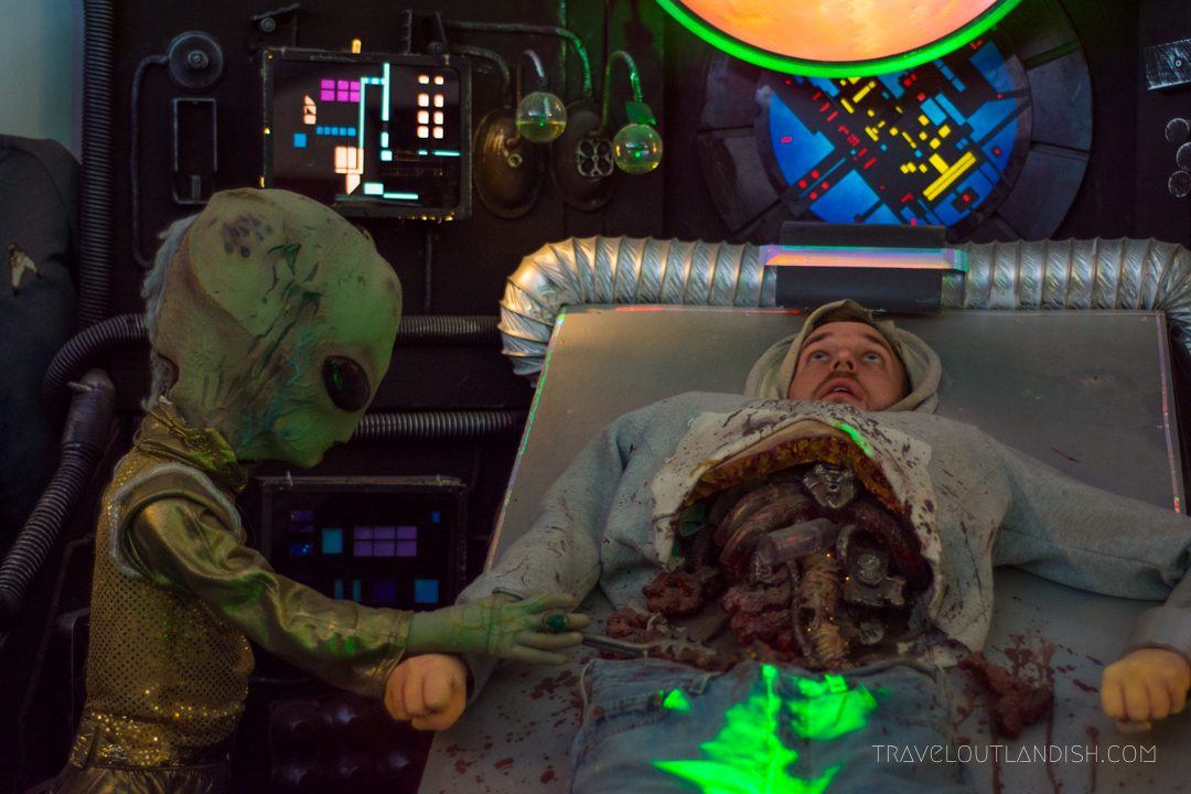 Alien Autopsy at the Peculiarium in Portland