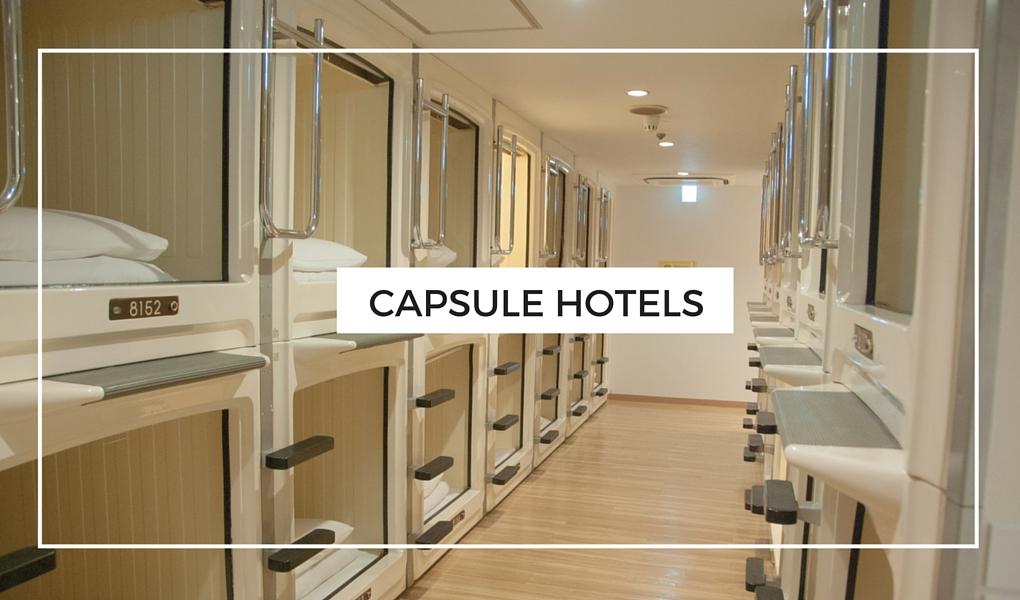 Everything Tokyo - Capsule Hotels in Tokyo