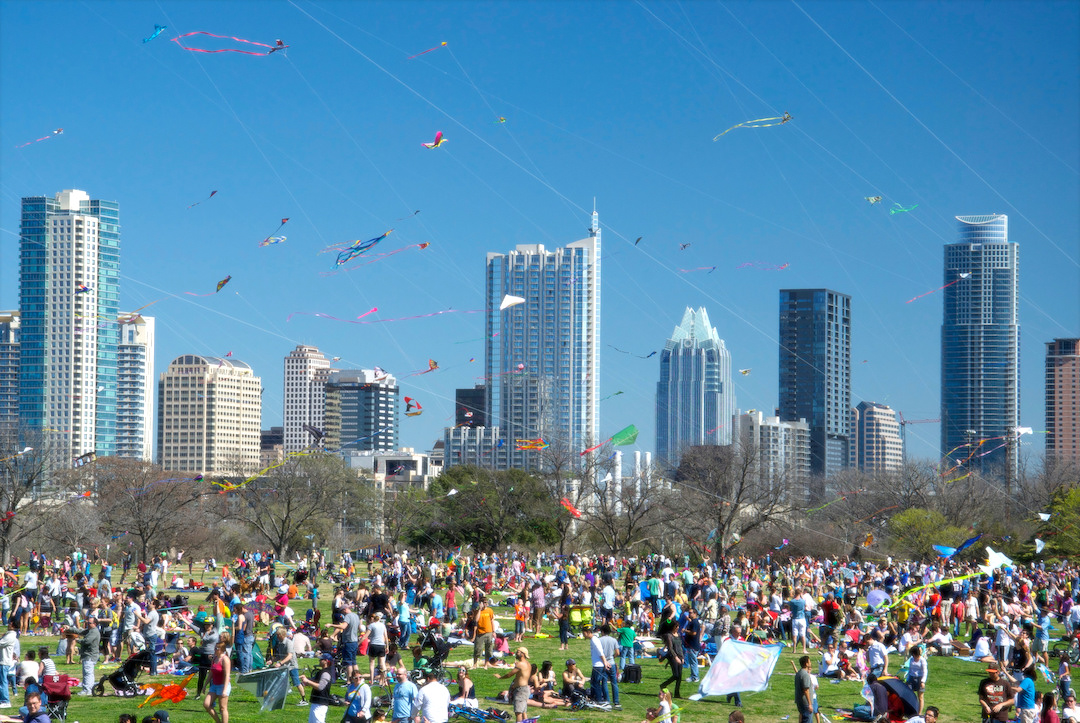 Unique Things to do in Austin - Zilker Kite Festival