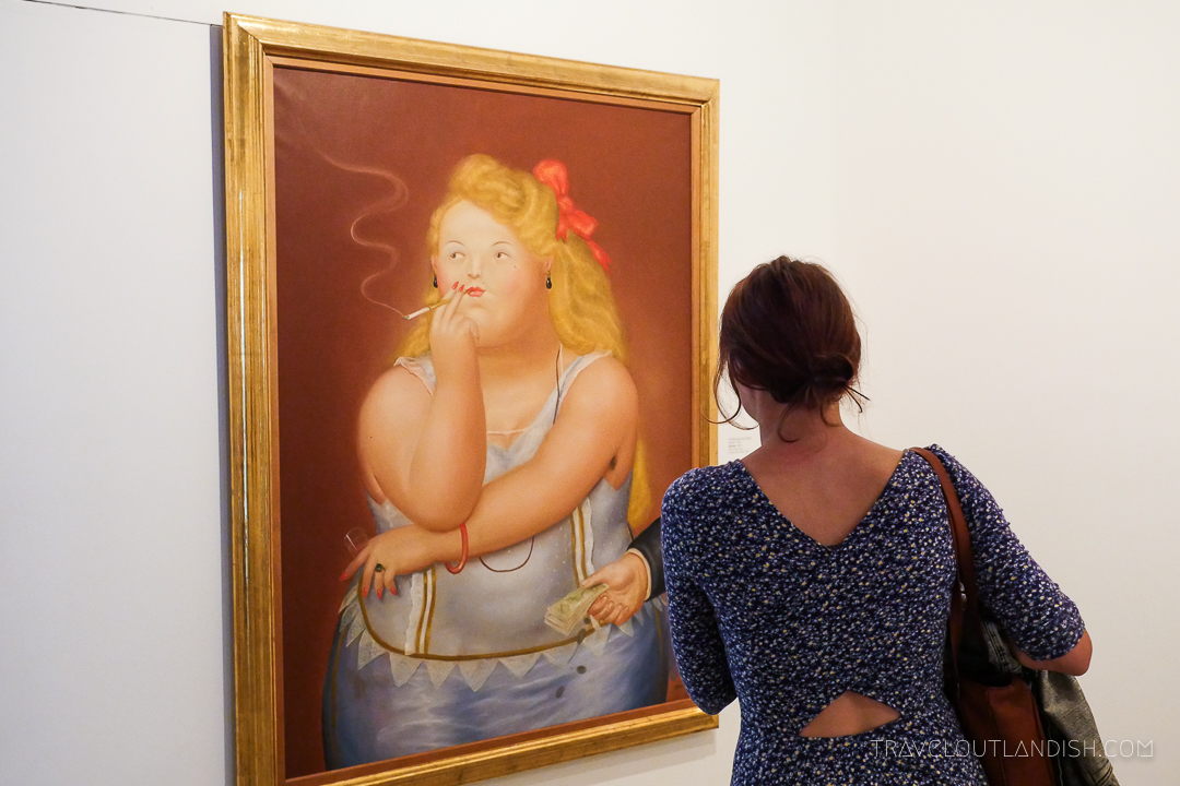 Things to do in Medellín: Botero Painting at Museo de Antioquia