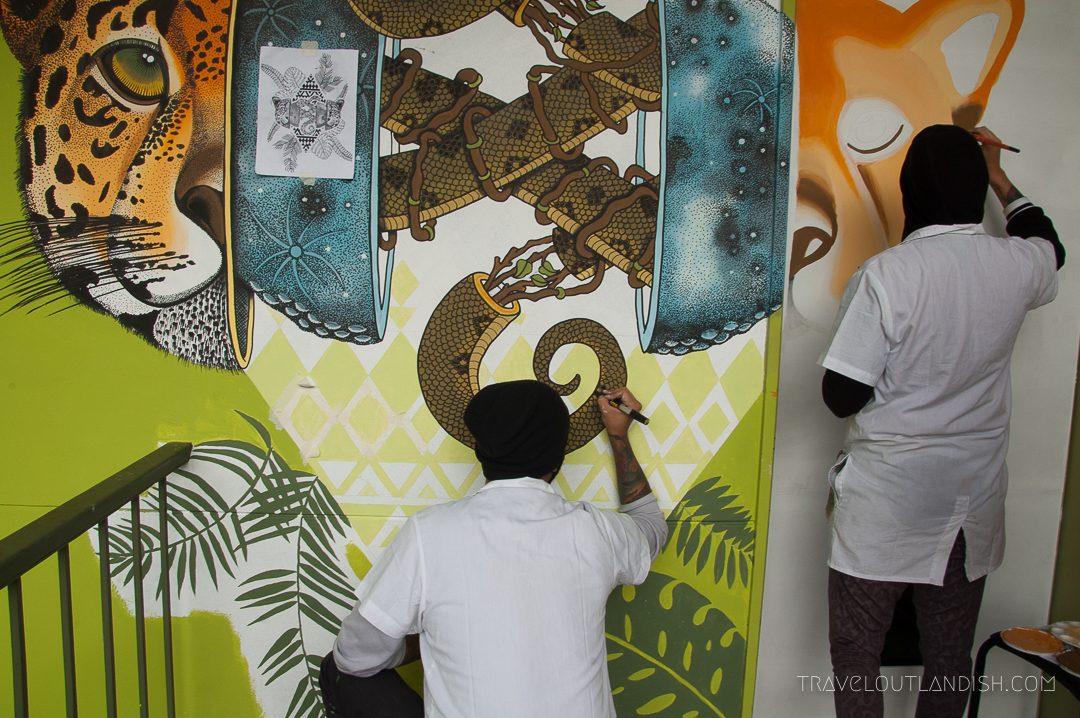 Urban Art in Medellin