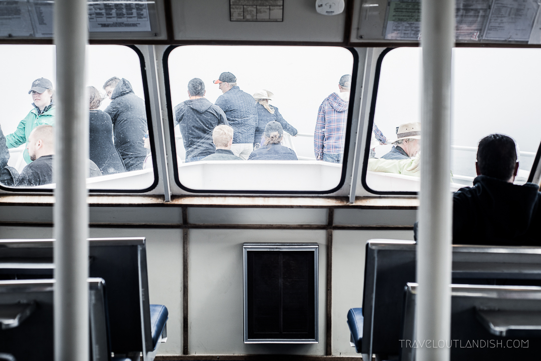 Whale Watching in Monterey: Inside the Boat