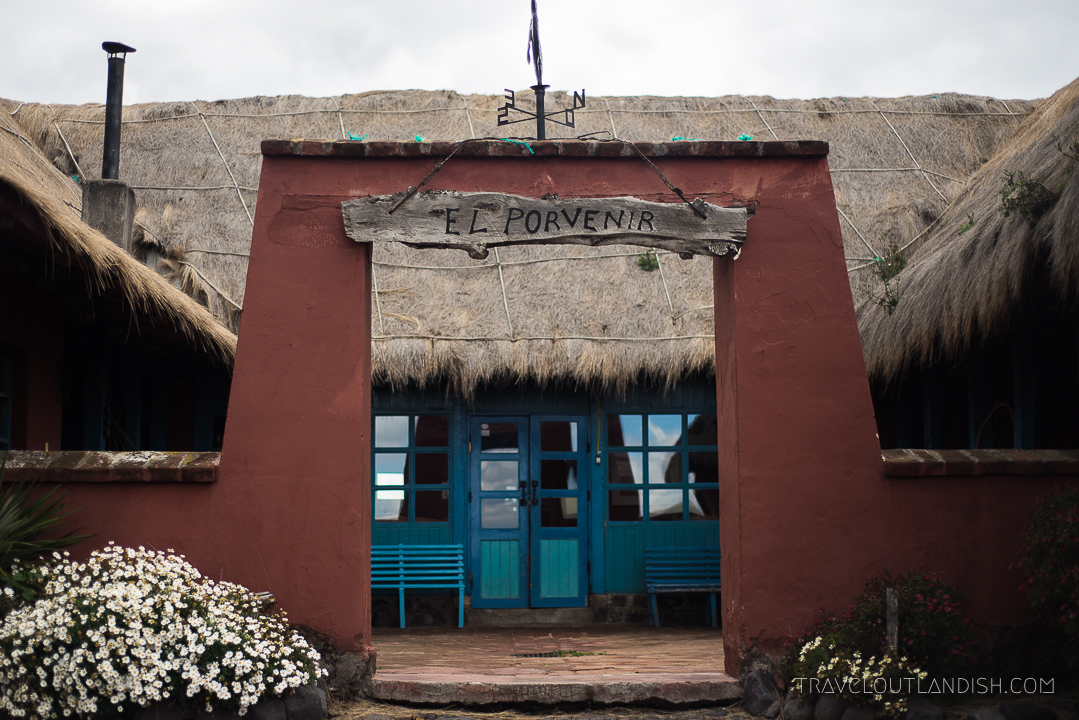 Unique Hotels in Cotopaxi - Entrance to Hacienda el Porvenir