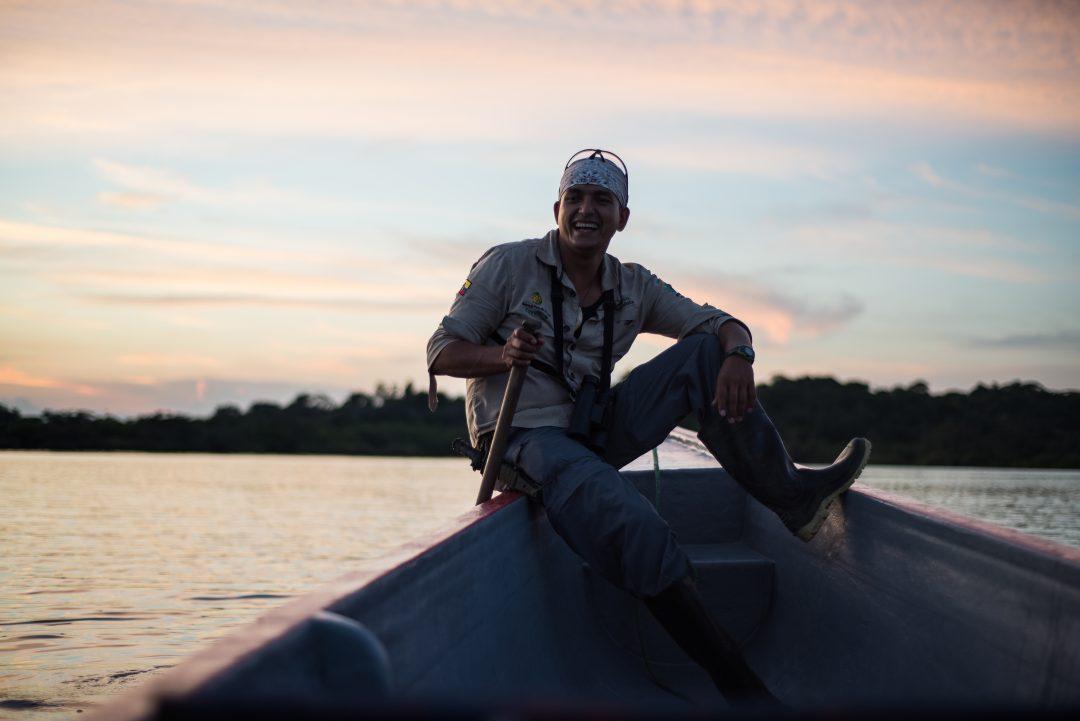 Ecuador Amazon - Canoe to Samona Lodge