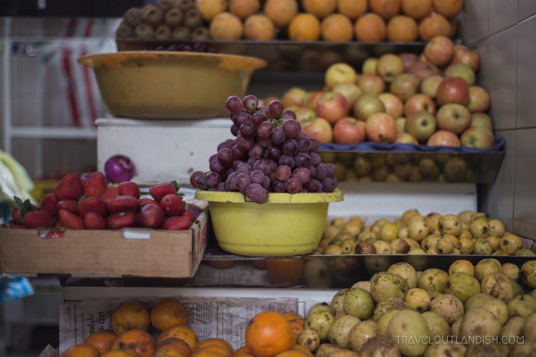 Fruits at Mercado Central