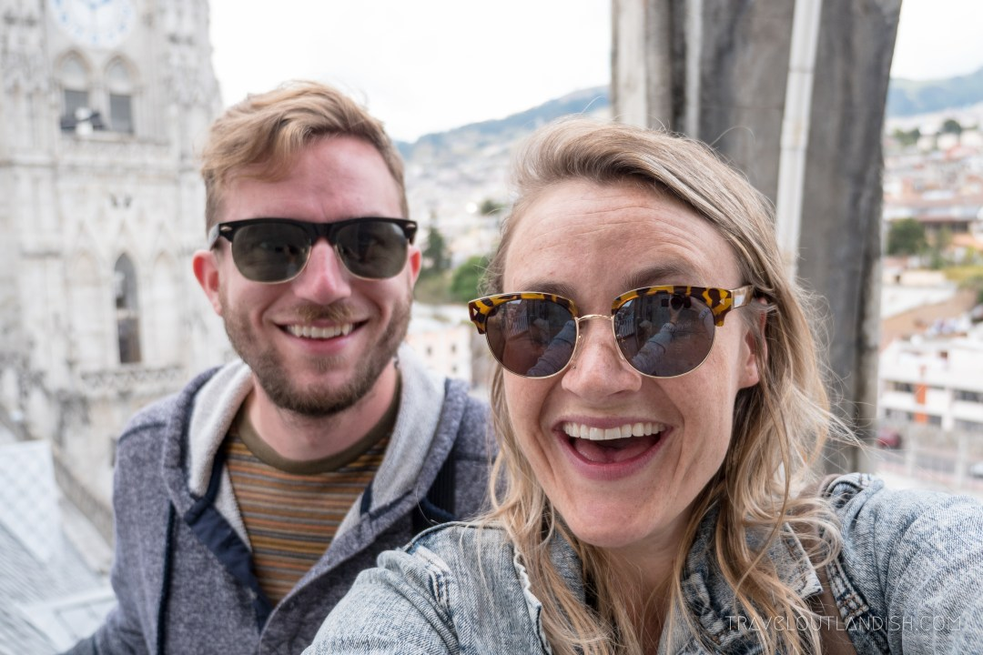 Taylor and Daniel in Quito