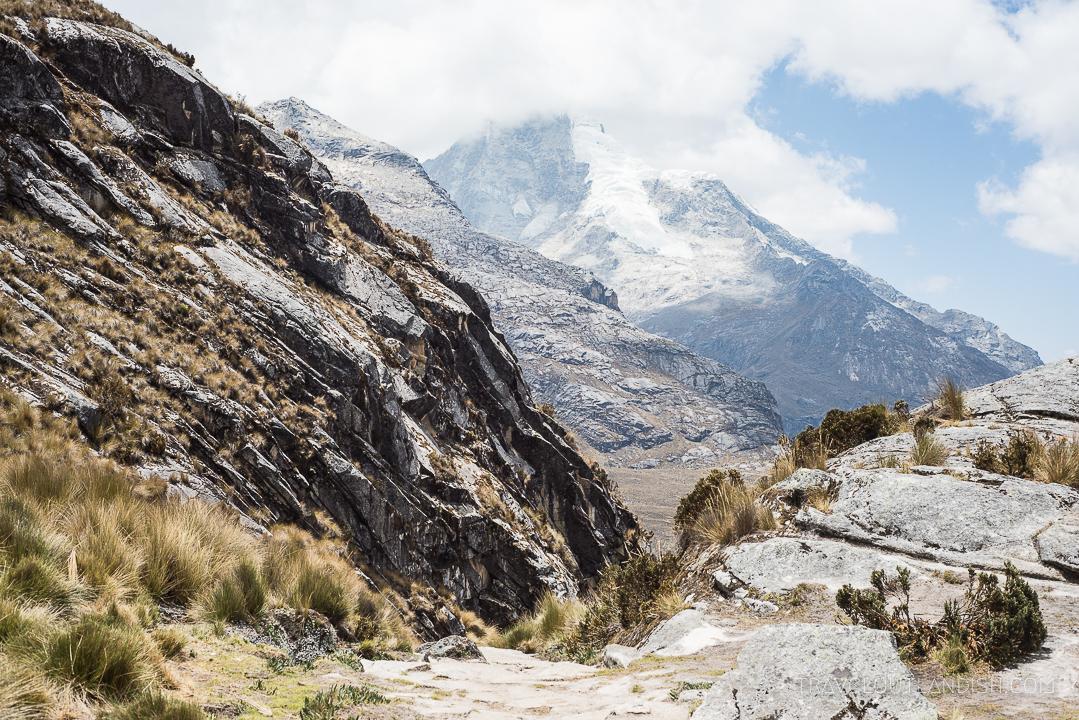 The Santa Cruz Trek - Mountains