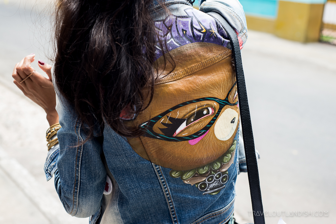Street Art in Lima - Jean Jacket by Nemo