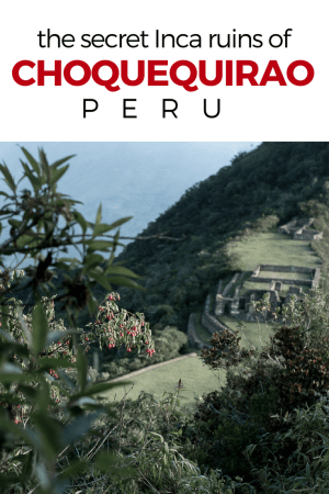 If you're seeking a more adventurous alternative to Machu Picchu, the Choquequirao ruins are the way to go. Photos + information for visiting Choquequirao and the Choquequirao trek.