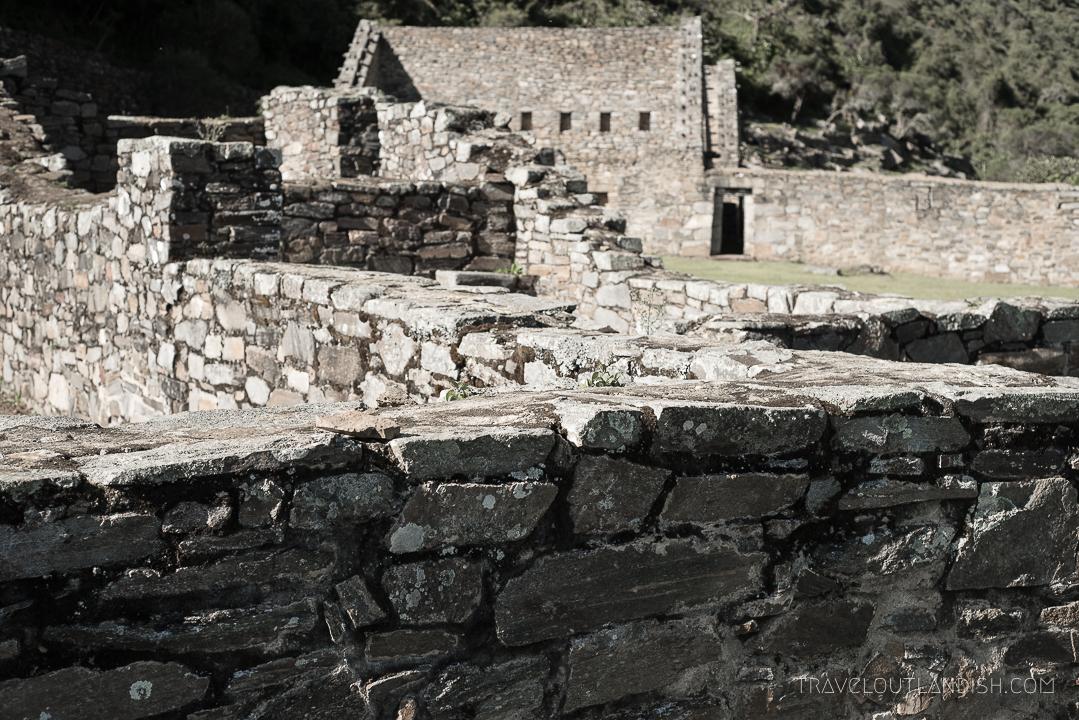 Choquequirao Ruins - Central Plaza